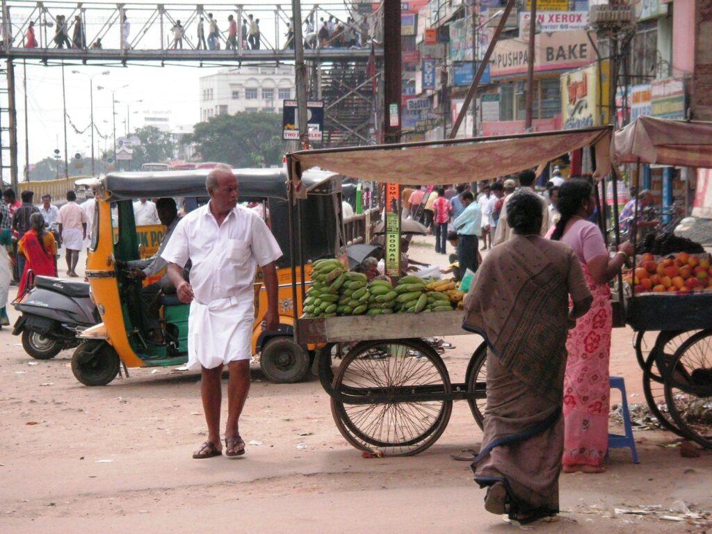 Strasse in Coimbatore